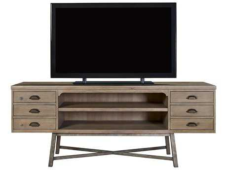 Universal Furniture Authenticity 80''L x 20''W Khaki Entertainment Console