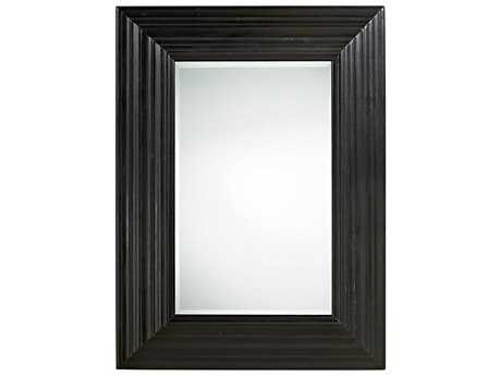 Universal Furniture Authenticity 34''W x 46''H Rectangular Black Denim Portrait Wall Mirror