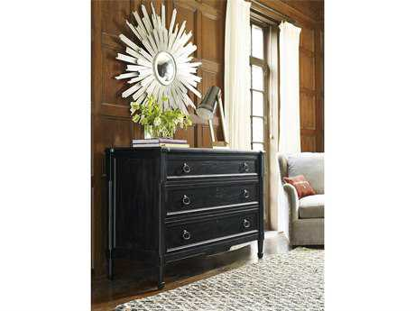 Universal Furniture Authenticity Black Denim Single Drawer Dresser