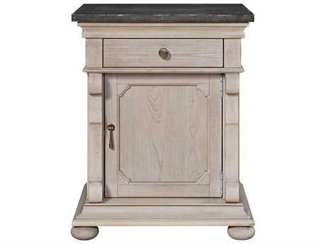 Universal Furniture Elan 24''W x 18''D Rectangular Belgian Wheat Door Commode Nightstand