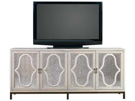 Universal Furniture Elan 77''L x 20''W Rectangular Belgian Wheat Entertainment Console