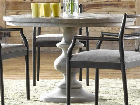 Universal Furniture Curated Greystone 48'' Wide Round Niles Dining Table