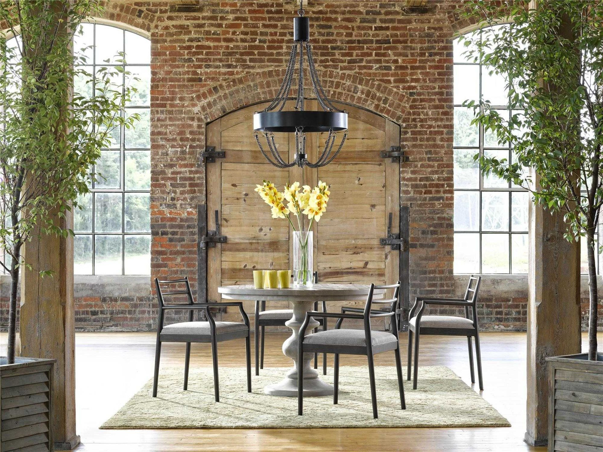 Universal furniture curated dining room set uf751757aset1 - Universal furniture dining room set ...