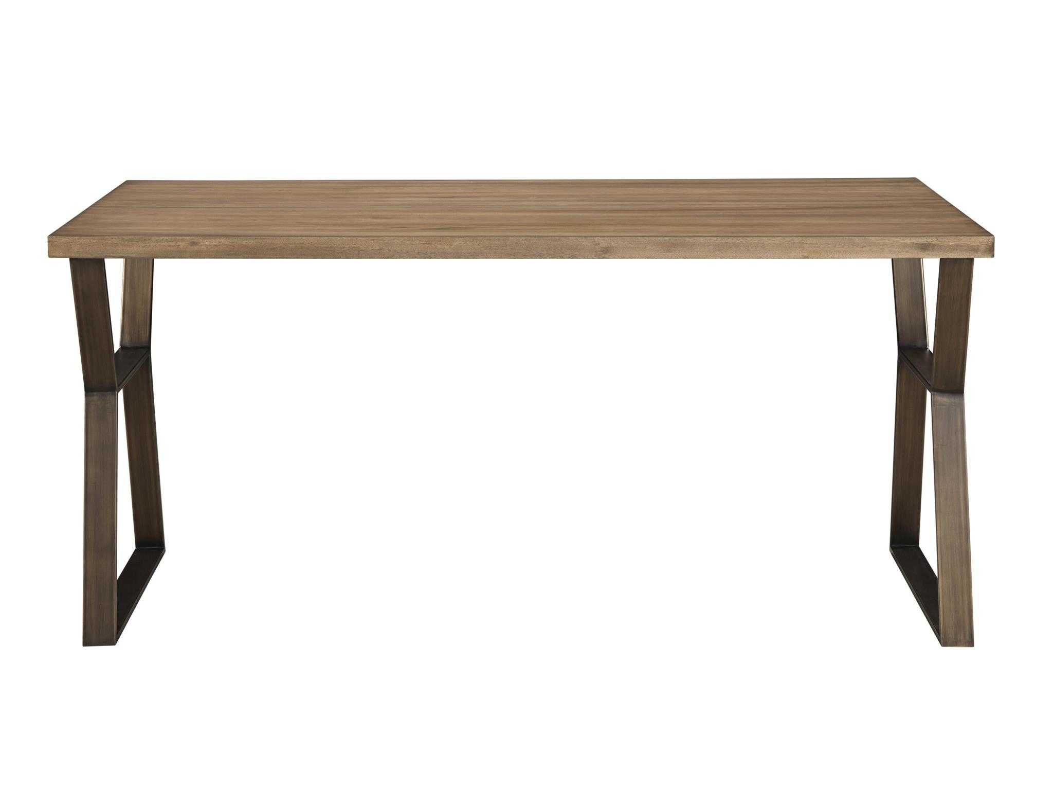 Universal furniture curated mango pango with brushed for Top rated dining room tables