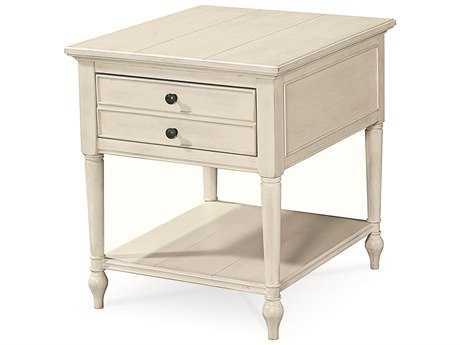 Universal Furniture Summer Hill 23''L x 26''W Rectangular Cotton End Table