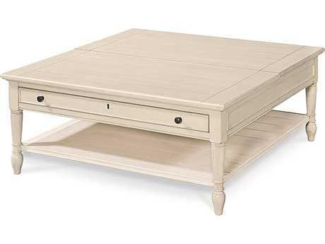 Universal Furniture Summer Hill 42'' Square Cotton Lift Top Cocktail Table