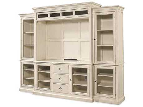 Universal Furniture Summer Hill 113''L x 23''W Cotton Entertainment Wall Unit