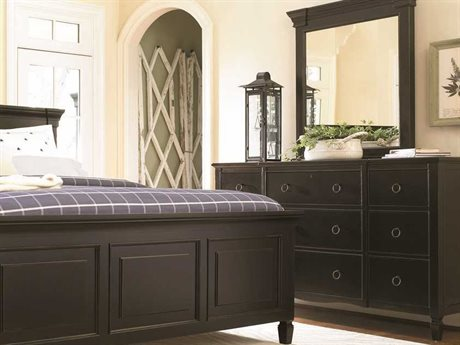Universal Furniture Summer Hill Midnight Dresser & Mirror Set