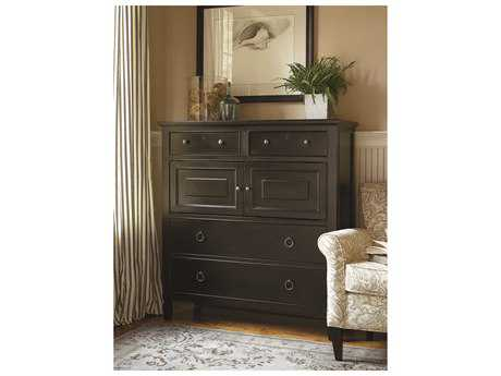Universal Furniture Summer Hill 46''L x 19''W Midnight Chest of Drawers