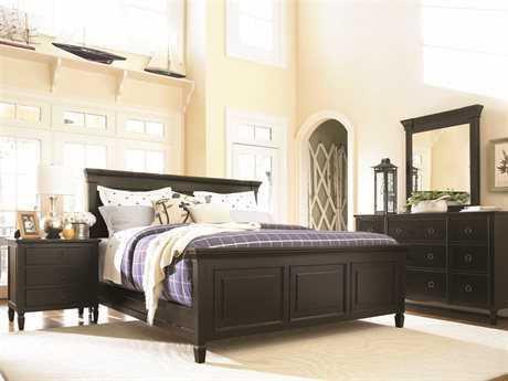 Universal Furniture Summer Hill Midnight Panel Bed Bedroom Set