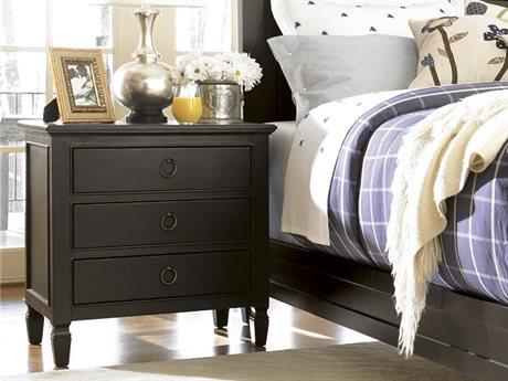 Universal Furniture Summer Hill 28''L x 20''W Rectangular Midnight Nightstand