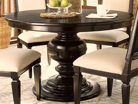Universal Furniture Summer Hill 70'' Round Midnight Dining Table