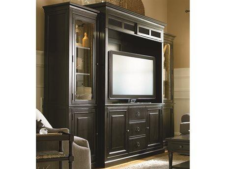 Universal Furniture Summer Hill 113''L x 23''W Midnight Entertainment Wall Unit