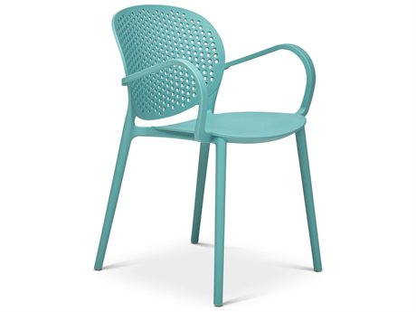 Urbia Outdoor Surfin Blue Recycled Plastic Dining Chair (Sold in 4)