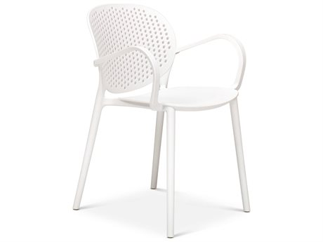 Urbia Outdoor White Recycled Plastic Dining Chair (Sold in 4)