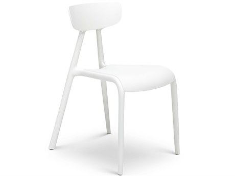 Urbia Outdoor Perry White Recycled Plastic Dining Chair (Sold in 4)