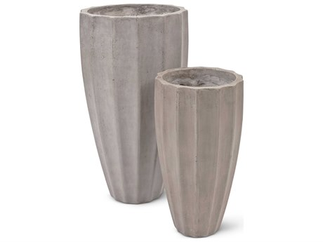 Urbia Outdoor Finn Dark Grey Planter (Set of 2)