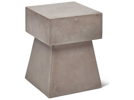Urbia Outdoor Dark Grey Concrete Dining Chair PatioLiving