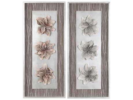 Uttermost Adrienn Foliage Shadow Box (Two Piece Set)