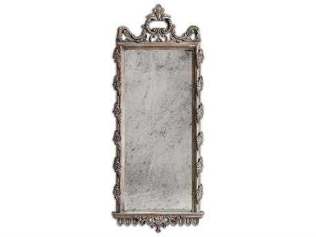 Uttermost Via Giulia 28 x 70 Distressed Long Wall Mirror