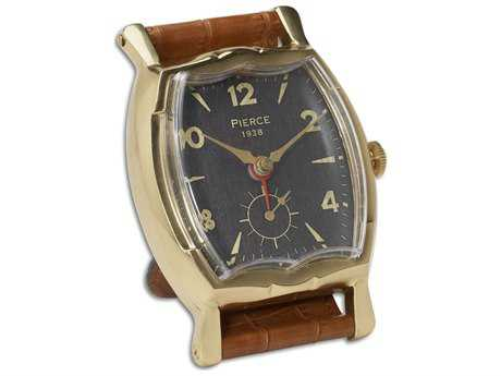 Uttermost Wristwatch Alarm Square Pierce Clock