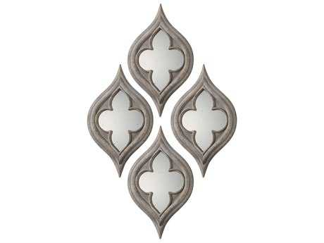 Uttermost Grace Feyock Pernilla Quatrefoil Mirrors (Set of Two)