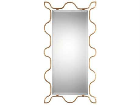 Uttermost Jim Parsons Nunica Gold Mirror
