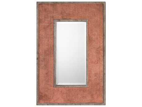 Uttermost Grace Feyock Lassen Rust Red Mirror