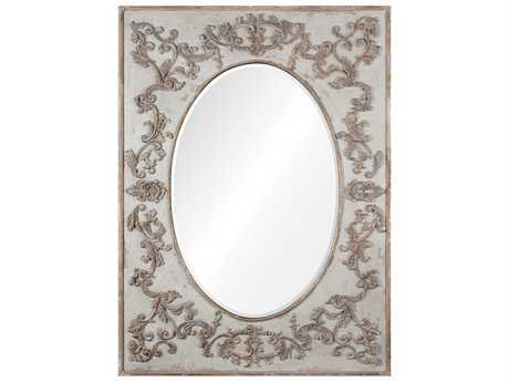 Uttermost Grace Feyock Modena Oversized Ivory Wall Mirror