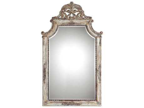 Uttermost Portici 32 x 53 Antique Ivory Wall Mirror