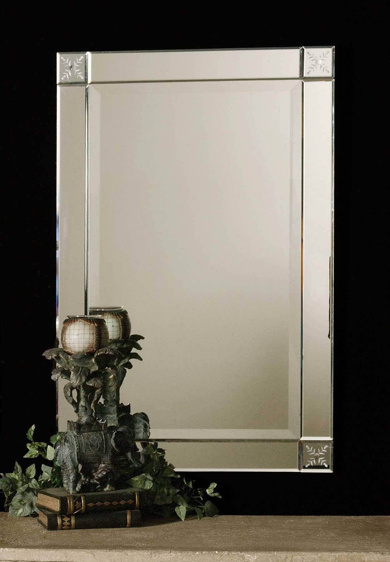 Uttermost Emberlynn 21 X 31 Frameless Wall Mirror Ut11914b