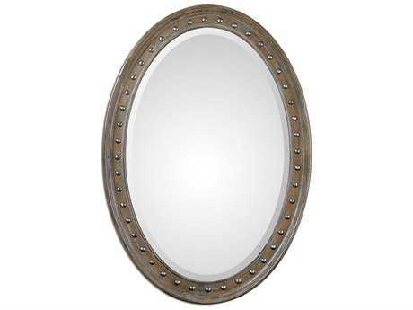 Uttermost Sylvana 42 x 30 Oval Wall Mirror