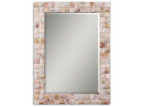 Uttermost Vivian 27 x 36 Mother Of Pearl Wall Mirror