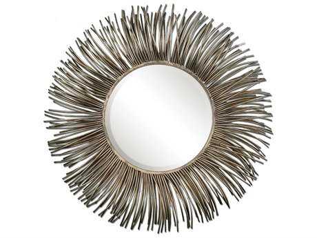 Uttermost Akisha 38 Round Starburst Wall Mirror