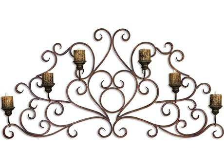 Uttermost Juliana Metal Wall Art Sconce Candle Holder