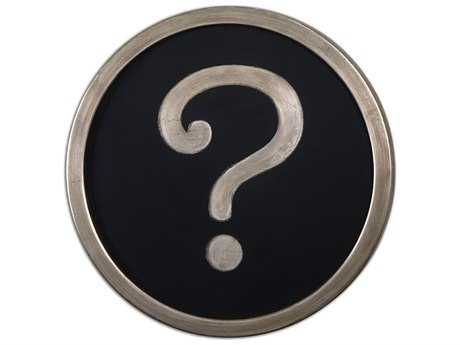 Uttermost Question Mark Wall Art