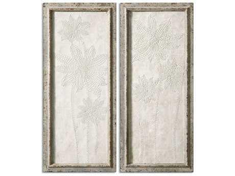 Uttermost Fiore Panels Wall Art (Set of 2)