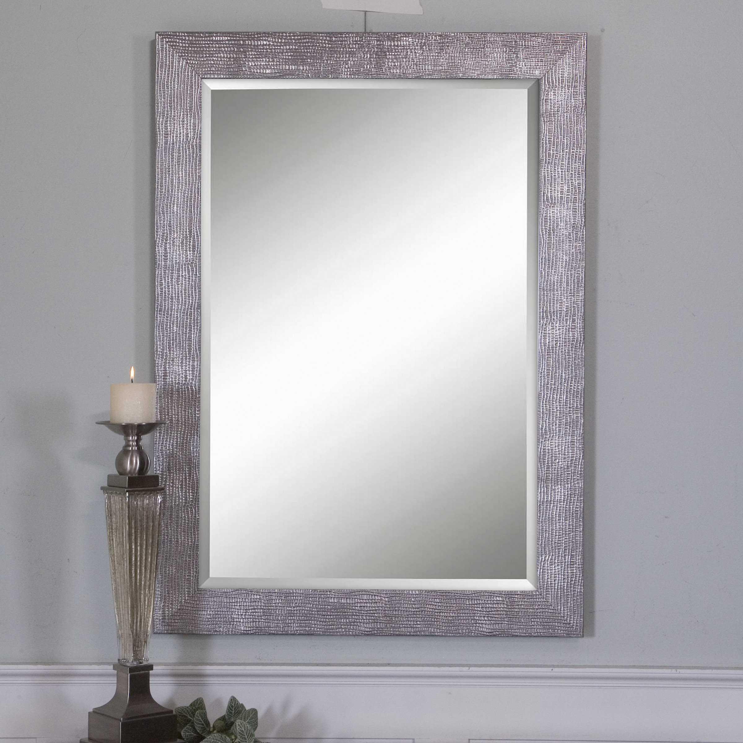 uttermost tarek 30 x 42 wall mirror ut14604. Black Bedroom Furniture Sets. Home Design Ideas