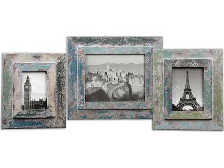 Uttermost Acheron Photo Frames (3 Piece Set)