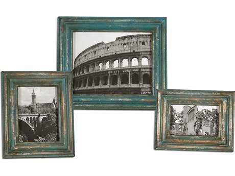 Uttermost Marlais Bronze Photo Frames (3 Piece Set)