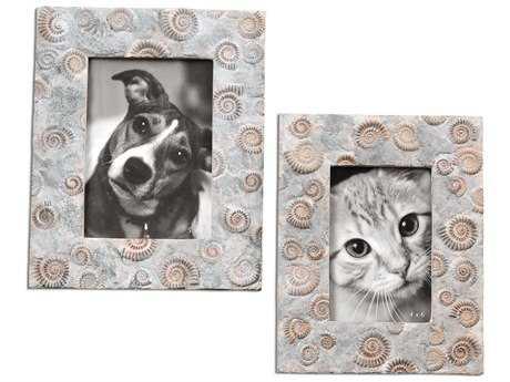 Uttermost Spirula Photo Frames (2 Piece Set)