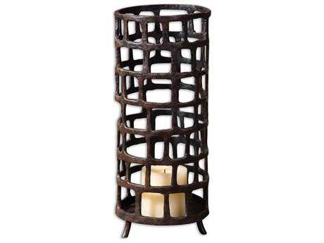 Uttermost Arig Distressed Candle Holder