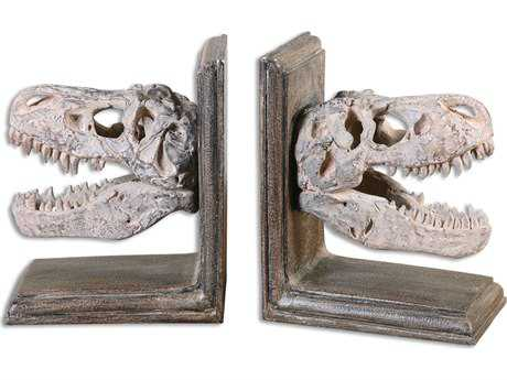 Uttermost Dinosaur Bookend (2 Piece Set)