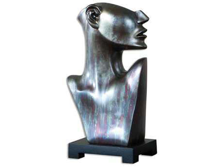 Uttermost My Good Side Bronze Sculpture
