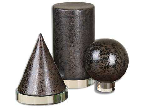 Uttermost Geometric Shapes (3 Piece Set)