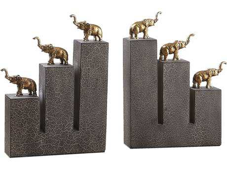 Uttermost Elephant Book Ends (Set of 2)