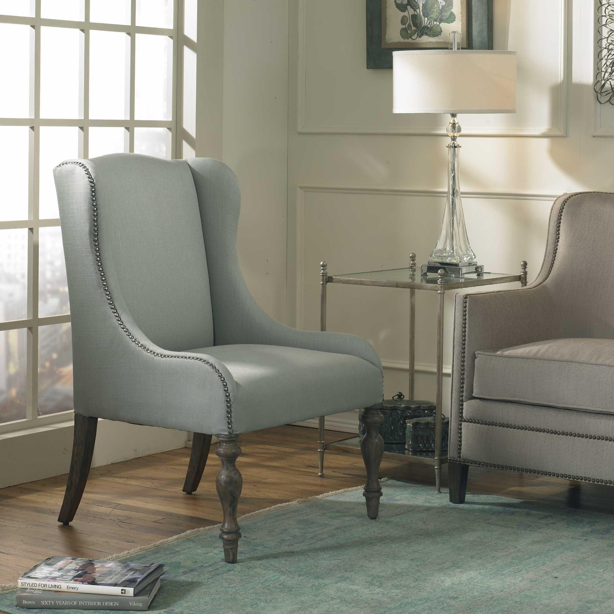 Uttermost Filon Wing Chair: Uttermost Filon Wing Accent Chair