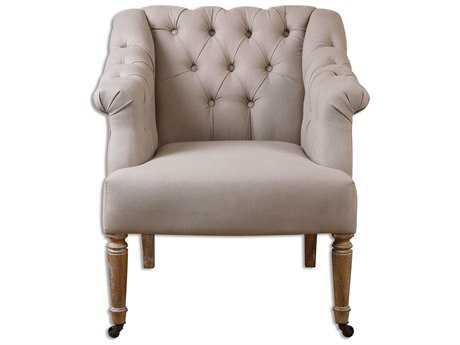 Uttermost Khaldun Tufted Accent Chair