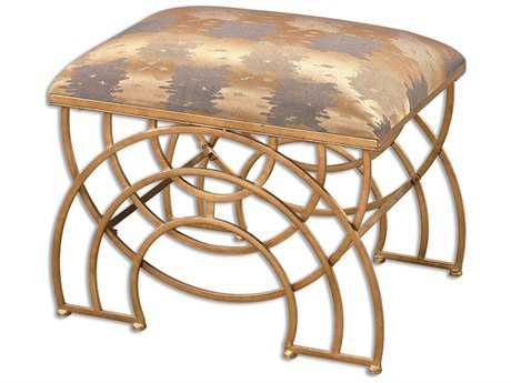 Uttermost Marcedes Gold Stool