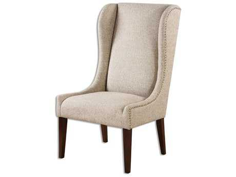 Uttermost Kriston Wingback Armless Accent Chair